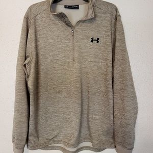 Gold Under Armour pullover